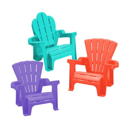 Zoomie Kids Kriebel Kids Plastic Adirondack Chair Set (Set of 2)