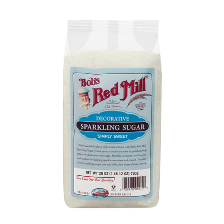 Bobs Red Mill Sparkling Sugar, 28 Oz