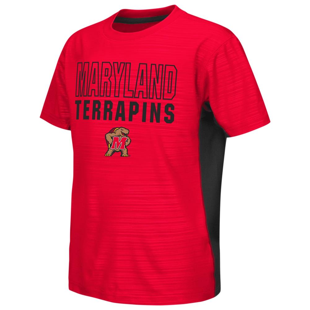 University of Maryland Terps Youth Tee Performance Poly Logo T-Shirt
