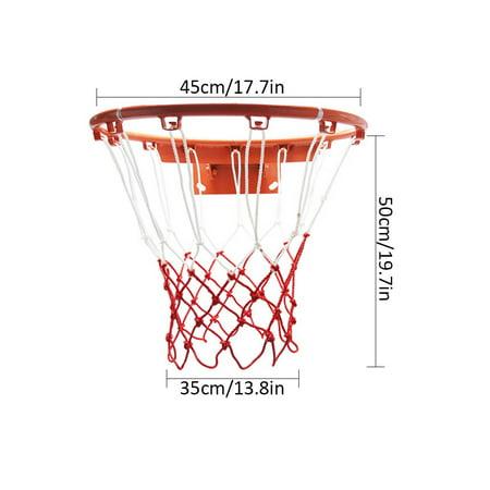 Two-Piece Set Thickened Wear-Resistant Basketball Net 12 Loops Basket Net - image 3 de 8