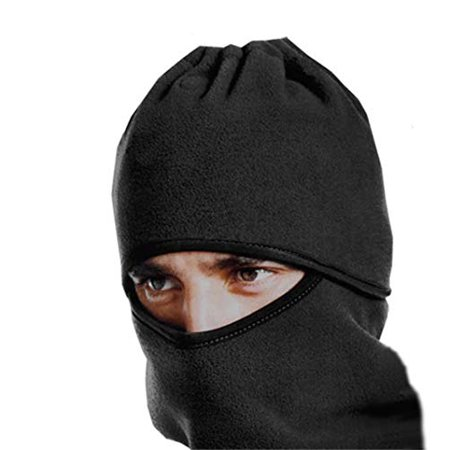 IGIA Flannel Thermal Fleece Balaclava Hood Ski Bike Wind Scarf Headgear Windproof Water Repellent Stopper Face (Best Thermal Water For Face)
