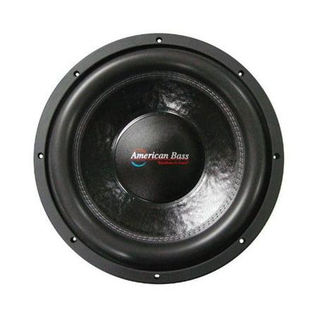 "American Bass XFL-1522 15"" 2,000 Watts Max Power Dual 2 Ohm XFL Series Car Subwoofer"