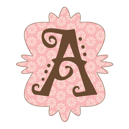 4 Walls Mod Monograms Letter A Wall Decal