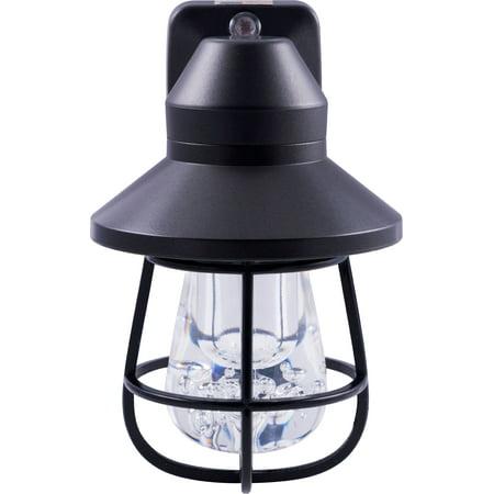GE Vintage LED Night Light, Caged Design, - Nachi Roller Bronze Cage