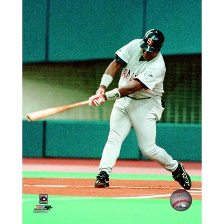 Tony Gwynn   19 Of The San Diego Padres Gets His 3000Th Hit With A Single In The First Inning Against The Montreal Expos At Olympic Stadium August 6 1999 Photo Print
