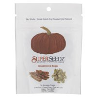 Superseedz Pumpkin Seeds Cinnamon-Sugar, 1 oz