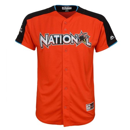 Derby Jersey - Outerstuff Kris Bryant #17 National League Youth 2017 All-Star Game Home Run Derby Jersey (Youth Small 8)