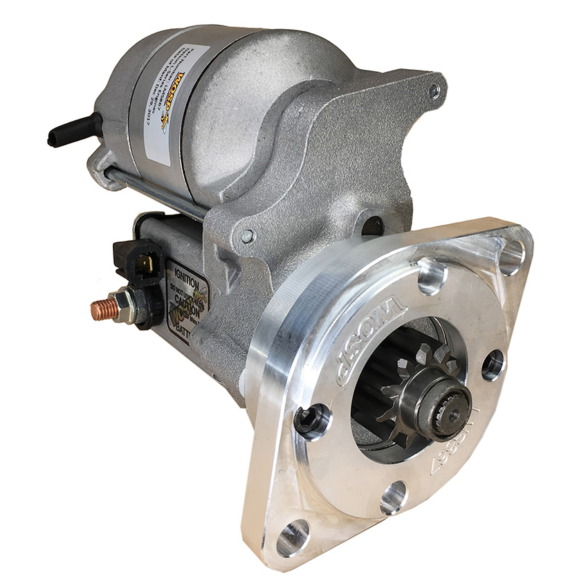 NEW OFF SET GEAR REDUCTION STARTER FITS NISSAN QF01 1975 ...