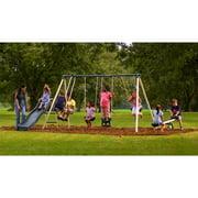 Flexible Flyer Backyard Swingin' Fun Metal Swing Set