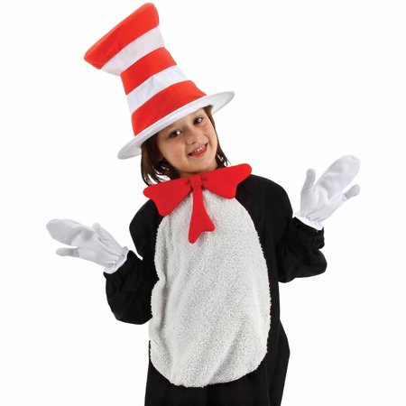 Cat in the Hat Accessory Kit Child Halloween Accessory