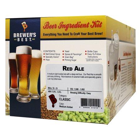 Red Ale Homebrew Beer Ingredient Kit by Brewer's