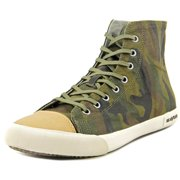 Seavees Army Issue High Dharma   Round Toe Canvas  Sneakers
