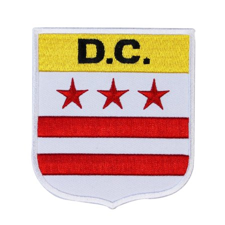 Usa Capital Shield  D C   Patch Washington Souvenir Diy Iron On Craft Applique