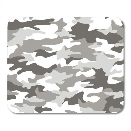 POGLIP Colorful Snow Camouflage Pattern Abstract Light Green Camo White Camoflage Mousepad Mouse Pad Mouse Mat 9x10 inch - image 1 de 1