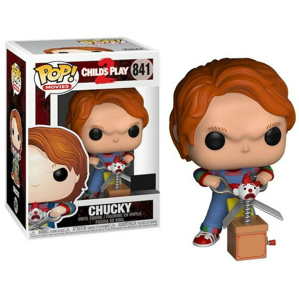 Child S Play Funko Pop Movies Chucky Vinyl Figure Jack Scissors Walmart Com Walmart Com