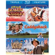 Blazing Saddles   Caddyshack   National Lampoon's European Vacation (Blu-ray) by TIME WARNER