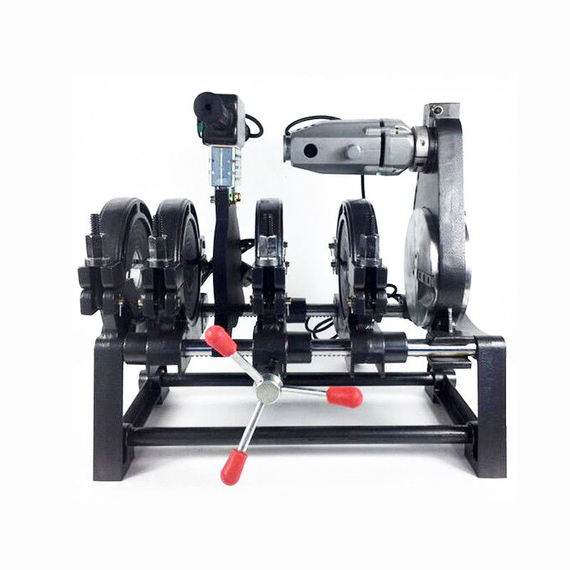 """Techtongda 2.48inch-6.30"""" Pipe Fusion Welder 4 Clamps PE HDPE PP Piping Hot Melt Welding Soldering Machine #145019"""