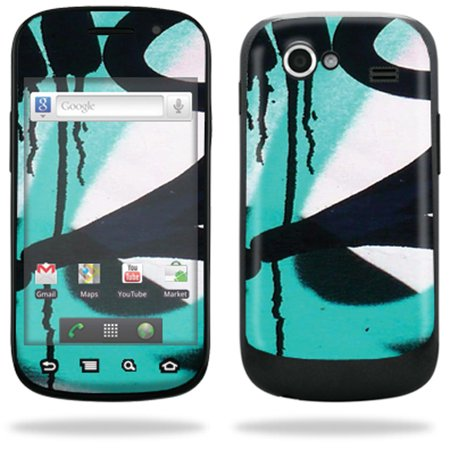 Mightyskins Protective Vinyl Skin Decal Cover for Samsung Google Nexus S 4G Cell Phone wrap sticker skins  - Burning Skull (Google Nexus With 4g)
