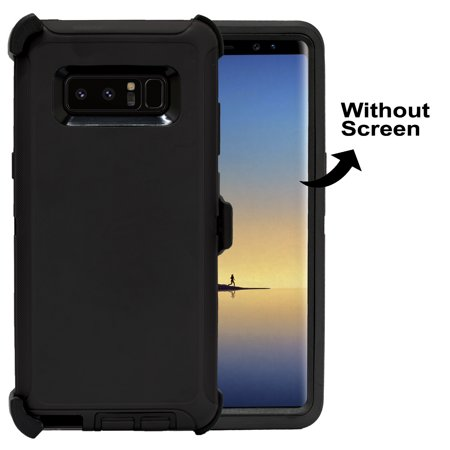 Galaxy Note 8 Case, [Full body] [Heavy Duty Protection] Shock Reduction /  Bumper Case WITHOUT Screen Protector for Samsung Galaxy Note 8 2017 Release