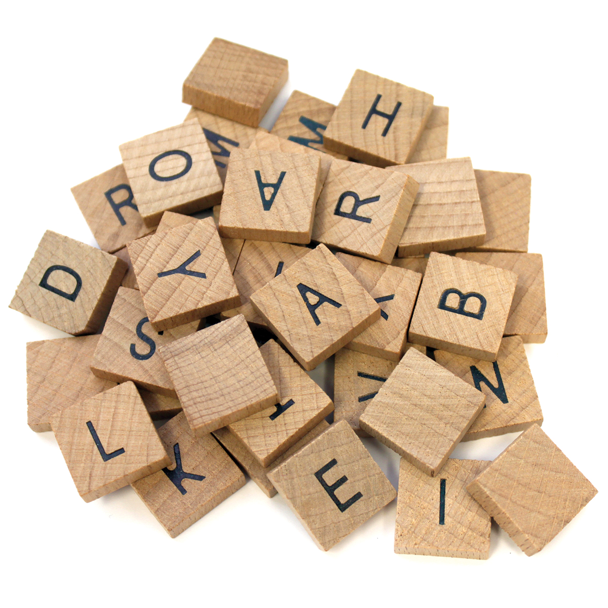 Bottle Cap Vintage Collection Bottle Cap Alphabet Tiles, 40/pkg