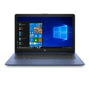 "HP Stream 14"" Celeron 4GB/64GB Laptop-Blue"