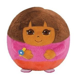 Ty Beanie Ballz Dora Plush Regular, Collect Them All By Nickelodeon by