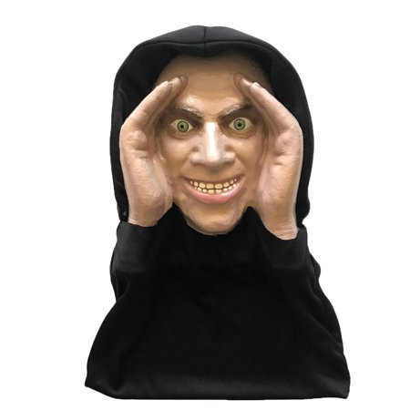 Lurking Peeping Thug Robber Car Hitchhiker Zombie Halloween Window Prop Poster Decoration