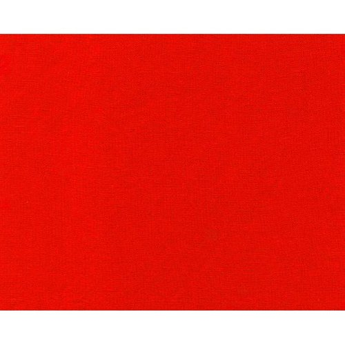 Rayon Challis, Solid Red