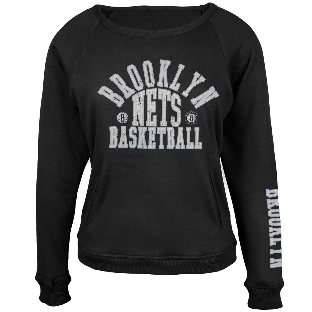 Brooklyn Nets - Overtime Juniors Crew Neck Sweatshirt