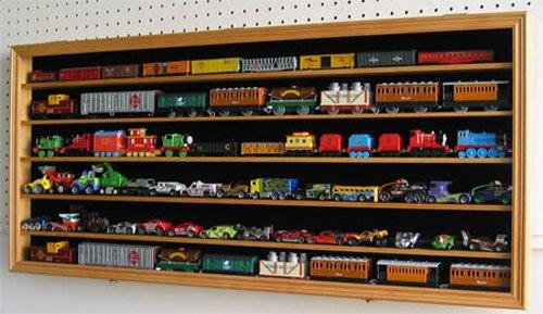 HO, N Scale Trains, Hot Wheels, Lego Minifigures Display Case Hot Wheels Wall... by