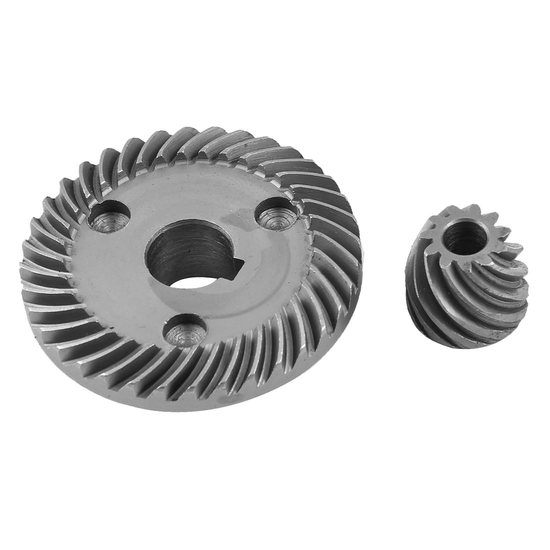 Unique Bargains Angle Grinder Repair Part Spiral Bevel Gear Set for  9553