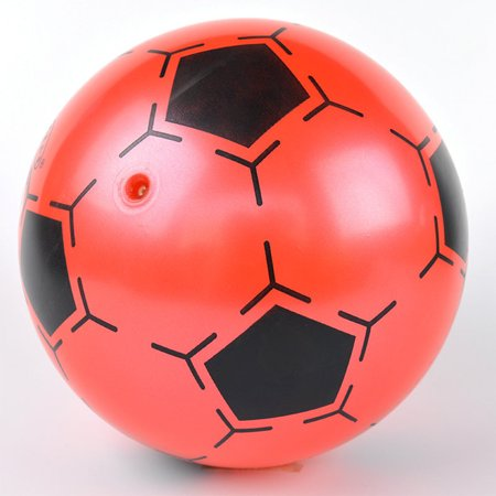 9 Inch Children Inflatable PVC Soccer Ball Toy Football Shape Bouncing Ball Gift for Kids Random Color
