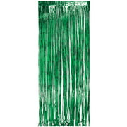 Green Foil Door Fringe