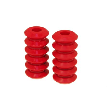 Prothane Universal Coil Spring Inserts - 7.5in High - Red