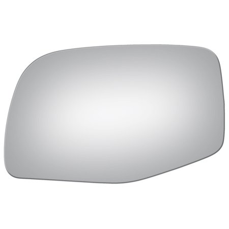 Mirror Glass for 89-98 Ford Truck Driver Side Drop Fit Flat Replacement (Ford Truck Glass)