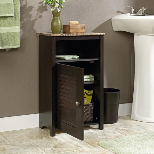 Sauder Peppercorn Floor Cabinet, Cinnamon Cherry   Walmart.com
