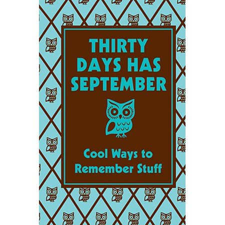 Thirty Days Has September: Cool Ways to Remember Stuff : Cool Ways to Remember Stuff](Cool Stuff To Make For Halloween)