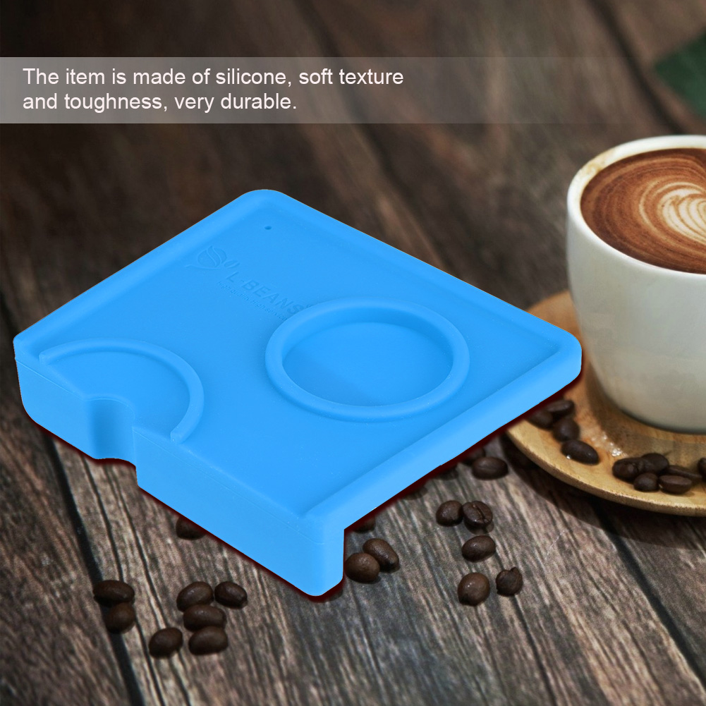 Silicone Coffee Tamper Mat Non-Slippery Food safe Silicone Coffee Tamper Mat