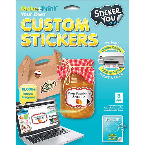 Sticker you sticker labels custom stickers 8 1 2x 11in