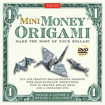 Mini Money Origami Kit Make The Most Of Your Dollar Origami Book
