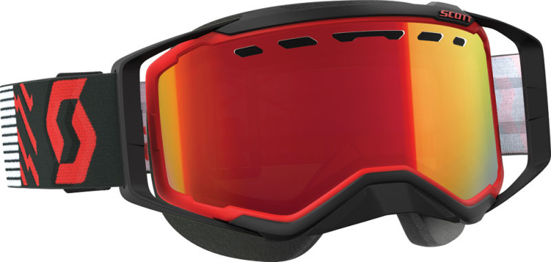 Goggle Prospect Snow Red black Amp Red Chrome Lens Sx Redblk by SCOTT Sports