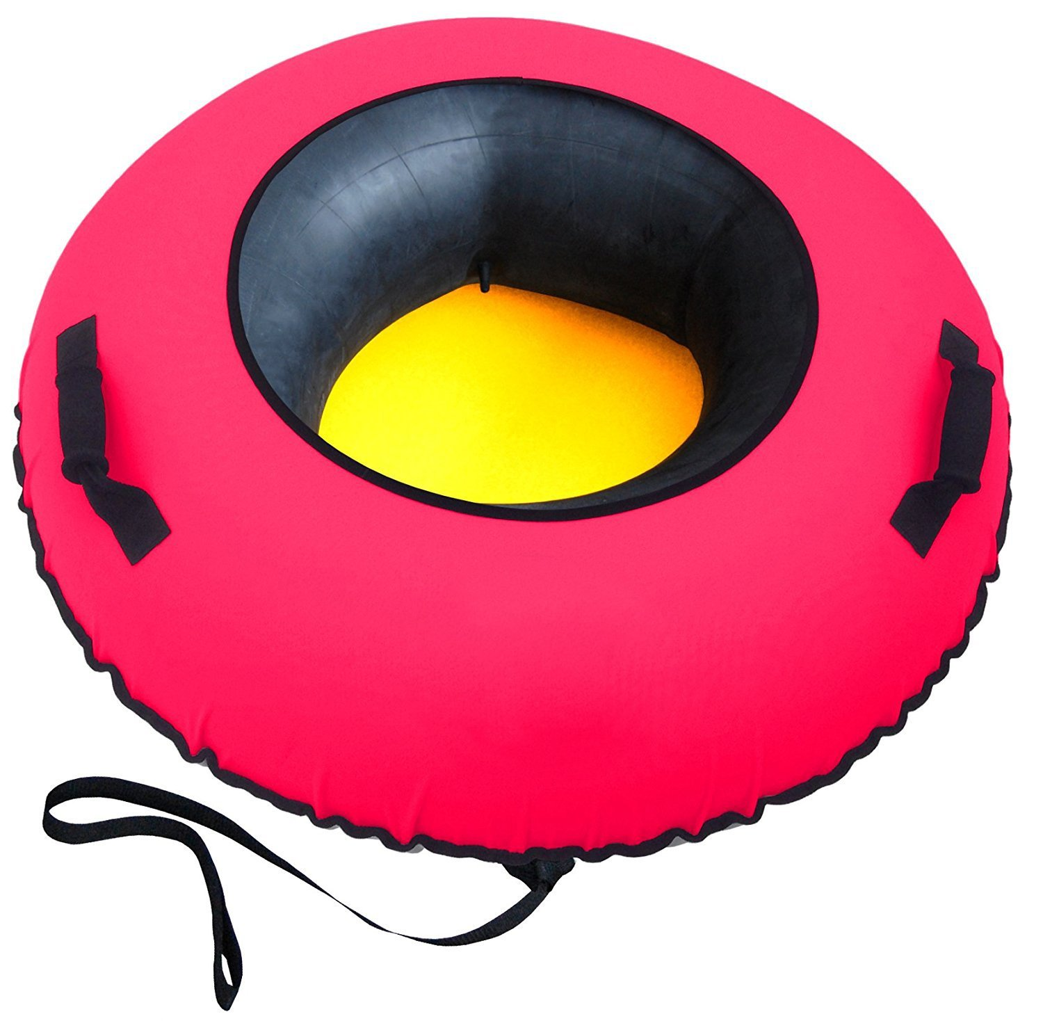 Kingmys Big Tire Inflatable Snow Tube Sled