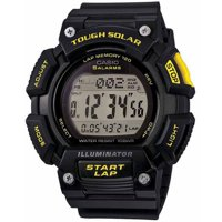 Casio Mens Tough Solar Digital Black Watch