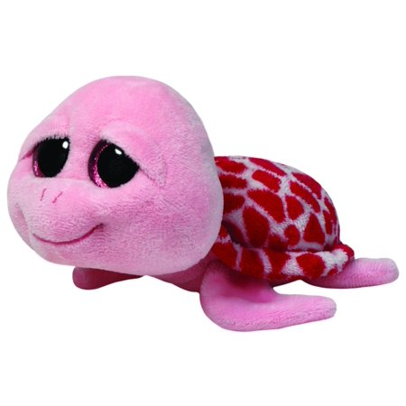 TY Beanie Boos - Shellby Pink Turtle Small 6