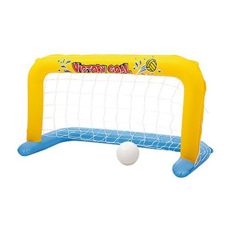 Inflatable Water Handball Gate Swimming Pool Inflatable Goal Net Float Island Water Beach Toys Party Toy - image 1 of 6