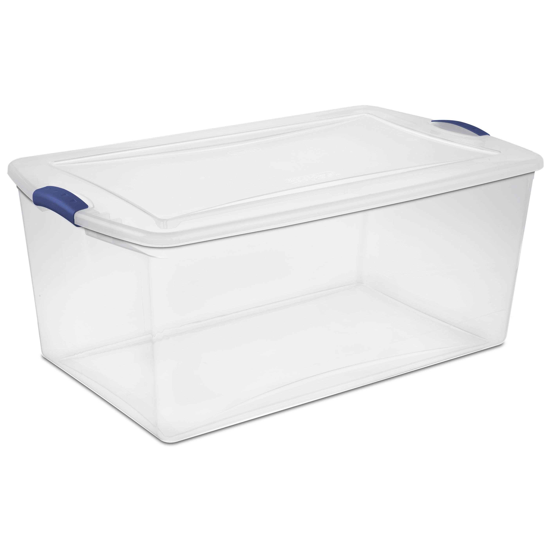 Plastic Storage Boxes Walmart Com