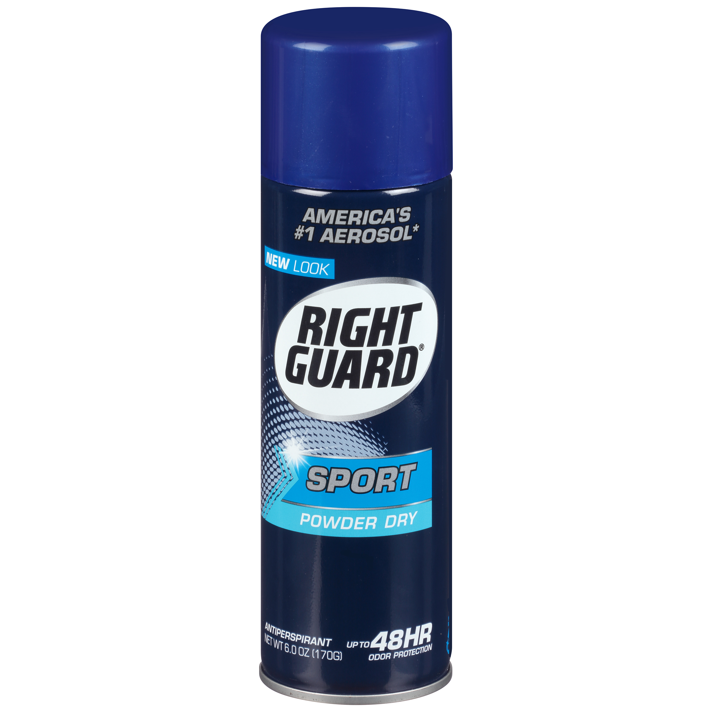 Right Guard Sport Antiperspirant Deodorant Aerosol Spray, Powder Dry, 6 Ounce