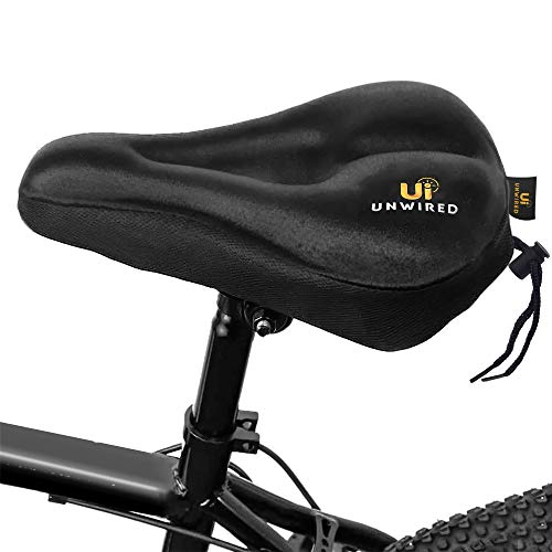 Details about  /Bike Seat Cover Comfort Gel Cushion Cover Soft Padded Mountain Cycling Saddle US