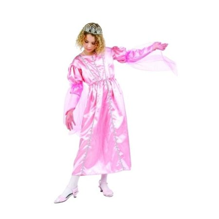 Fairy Queen Dress (Pink Fairy Queen Costume - Size Child Large)