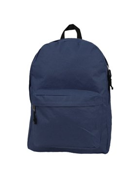 434122ca022 Product Image Backpack Classic School Bag Basic Daypack Simple Book Bag 16  Inch